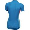PEARL iZUMi Select Pursuit Kortärmad cykeltröja Dam blå